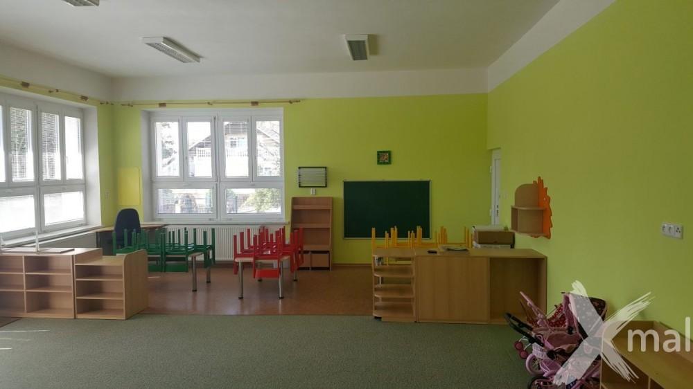 Malířské práce v mateřské škole