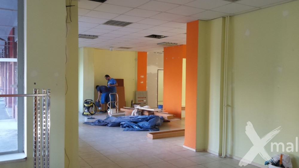 Malování obchodních prostor Plzeň