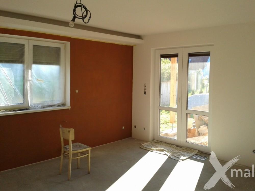 Malování obývacího pokoje - inspirace