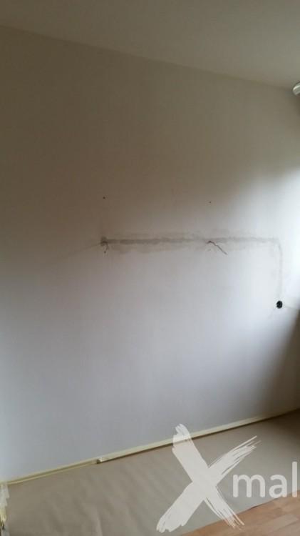 Příprava zdi před tapetováním