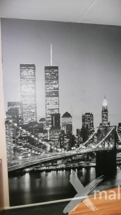 Fofotapeta na zdi kanceláře