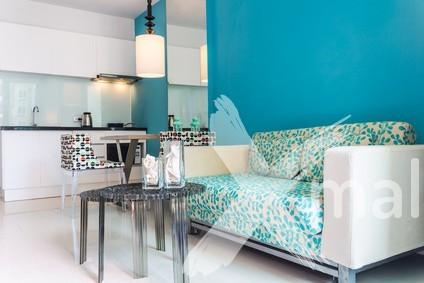 Inspirace malování obývacího pokoje 3
